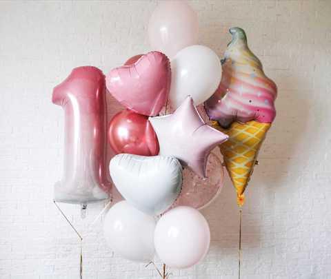 Воздушные шары на год Мск