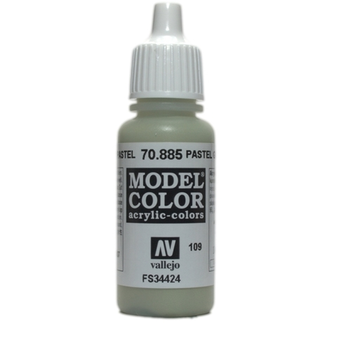 Model Color Pastel Green 17 ml.