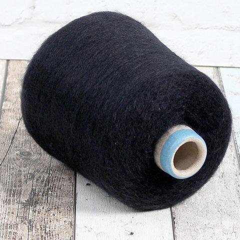 Мохер на шелке SESIA / VIVIENNE  850 черный