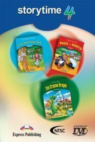 Storytime 4 DVD - сборник мультфильмов