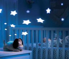Ночник-проектор Щенок в детской