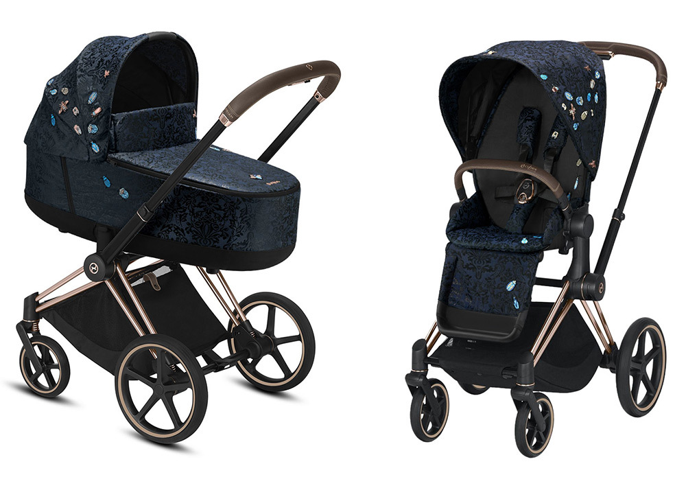 Цвета Cybex Priam 2 в 1 Детская коляска Cybex Priam III 2 в 1 FE Jewels of Nature шасси Rosegold cybex-priam-iii-2-in-1-2020-jewels-of-nature-rosegold.jpg