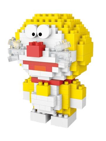 Конструктор Wisehawk Дораэмон желтый 199 деталей NO. 2519 Doraemon series