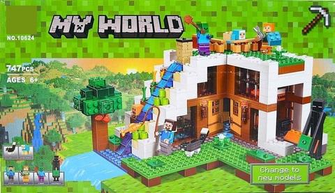 Конструктор My World 10624 База на водопаде