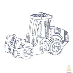 Каток UNIT (UNIWOOD) - Деревянный конструктор, 3D пазл, сборная модель