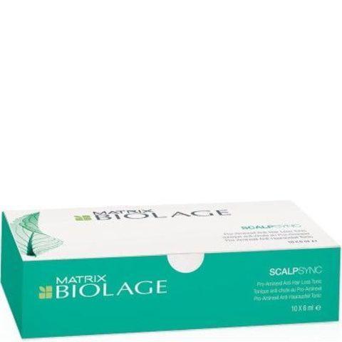 Ампулы против выпадения волос, Matrix Biolage ScalpSync,10шт х 6мл.