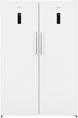 Холодильник HIBERG SBS RF-47D NFW + FR-34D NFW