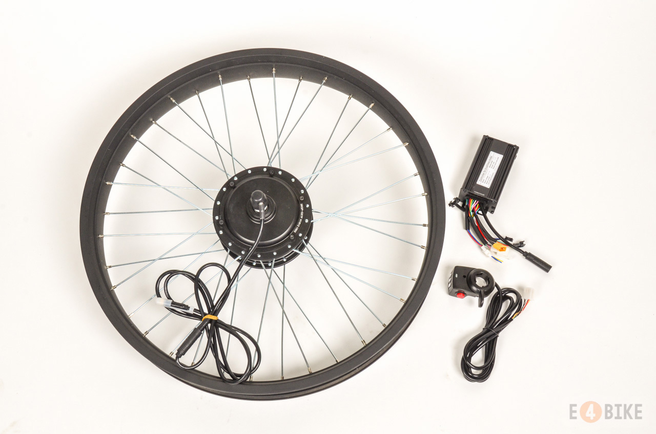 МК редукторное E4BIKE Light 350 Вт + контроллер (FAT)