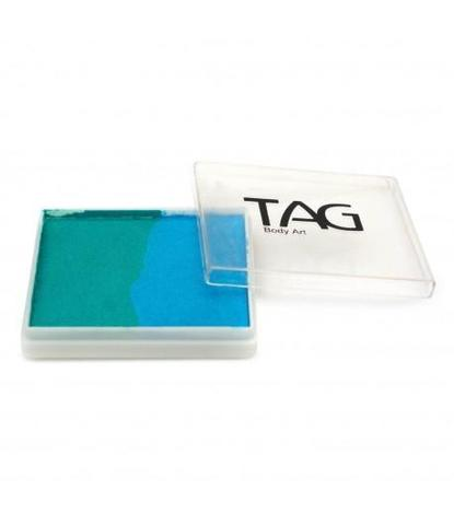 Аквагрим TAG 50 гр бирюзовый/голубой