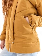 Куртка-бомбер Нью горчица