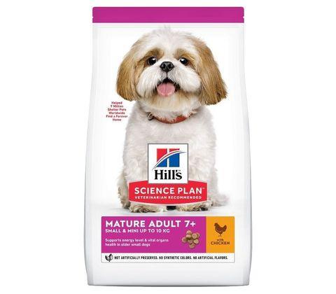 Hill's сухой корм для собак миниатюрных пород старше 7 лет (курица) 300г