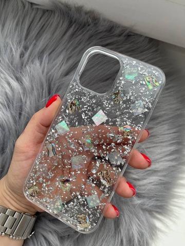 Чехол iPhone 12 Pro /6,1''/ Magic silicone /silver/