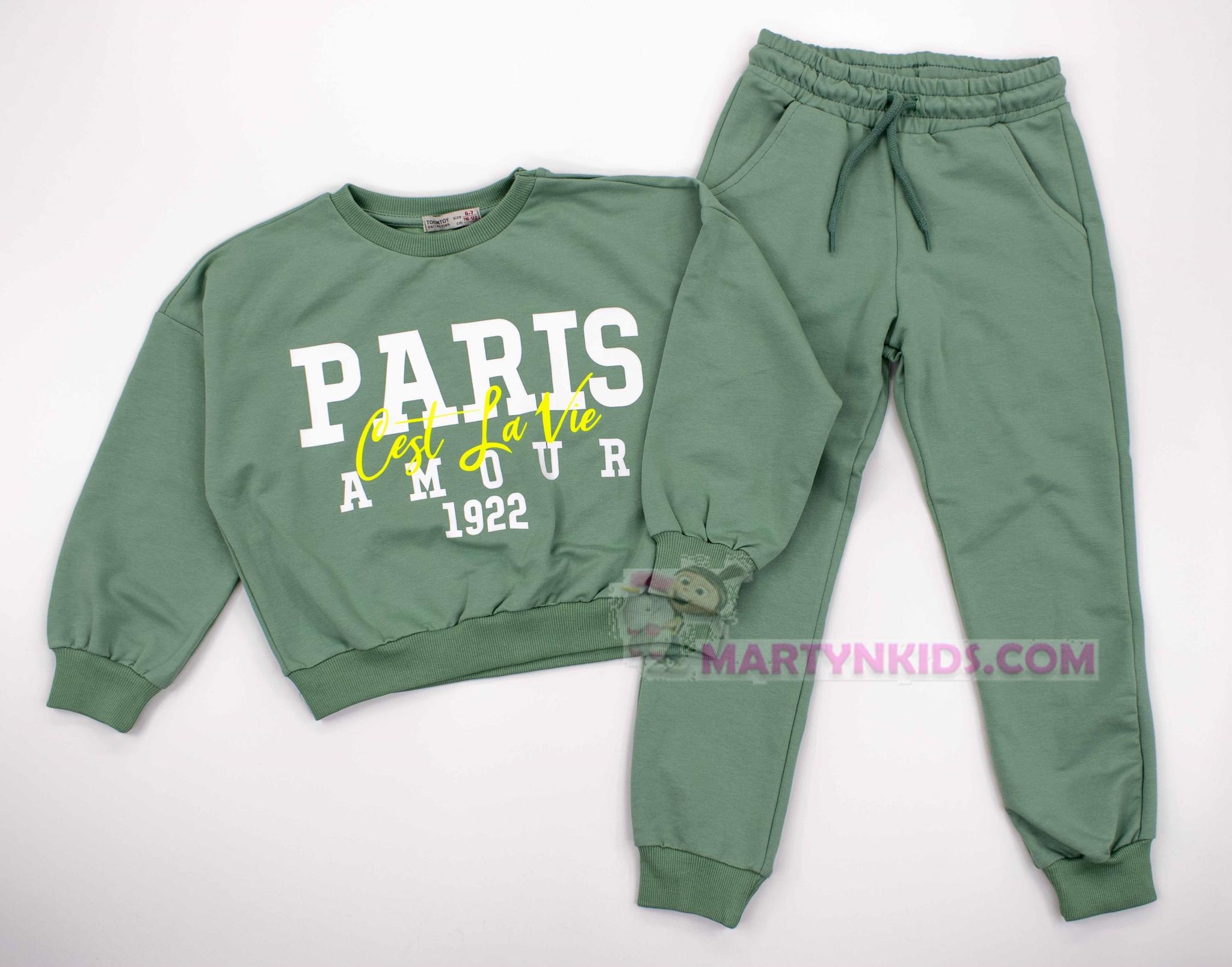 3787  костюм PARIS (две нитки)