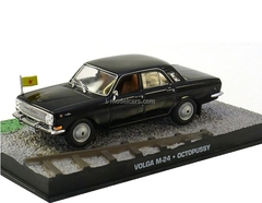 GAZ-24 Volga M-24 James Bond Movie Car Octopussy black Altaya 1:43