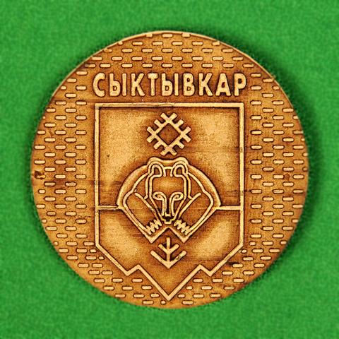 Магнит Сыктывкар герб