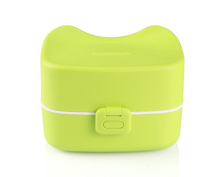 Ланч-бокс Bento Box animal зеленый