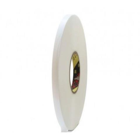 Прозрачный вспененный двусторонний скотч 3М, толщина - 0,5 мм