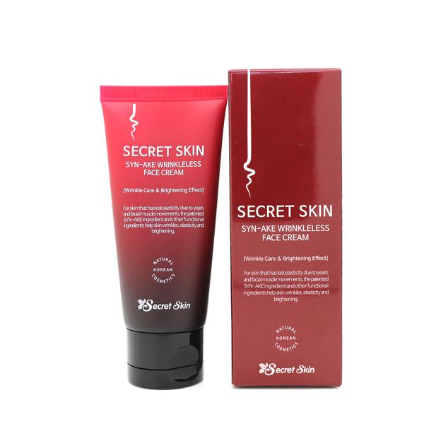 Омолаживающие средства Крем для лица со змеиным ядом Syn-ake Wrinkleless Face Cream 50гр secret_skin_syn-ake_face_cream.jpg