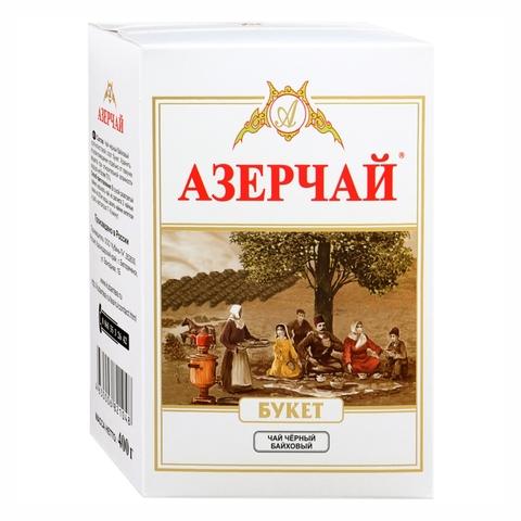 Чай АЗЕРЧАЙ Букет Черный кр/лист 400 г т/у РОССИЯ