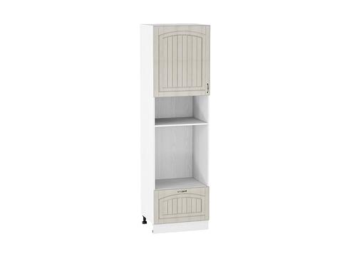 Шкаф пенал под бытовую технику с 1-ой дверцей и ящиком 600 Верона L (Ясень золото)