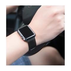 Часы IWO Smart Watch IWO 5 с черным меланским браслетом