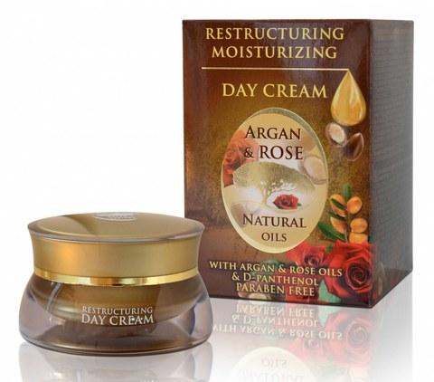 Дневной крем с аргановым маслом, 50 мл.