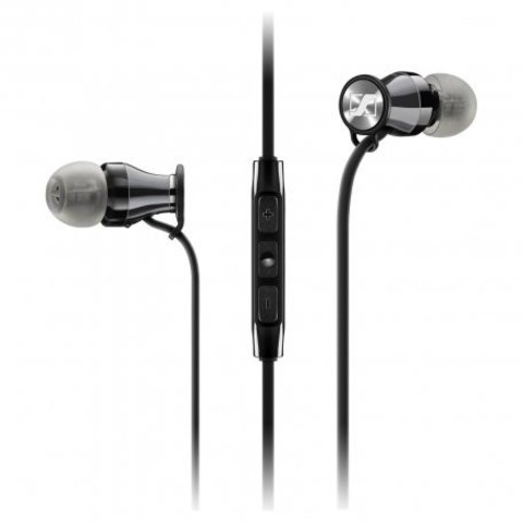 Sennheiser / Наушники проводные M2 IEI Chrome с микрофоном | для Apple