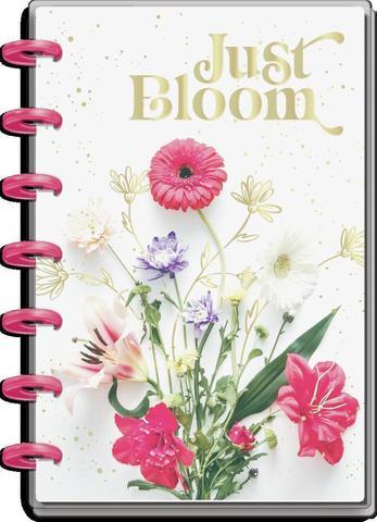 Ежедневник 12 Months - Mini Dashboard Happy Planner -  Just Bloom  - 12,5х18см