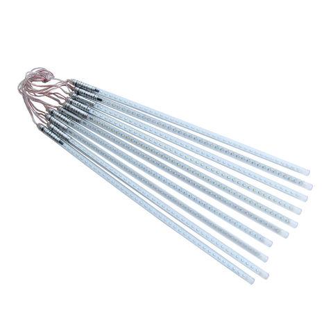 стикающие капли тающая сосулька 50 см гирлянда LED