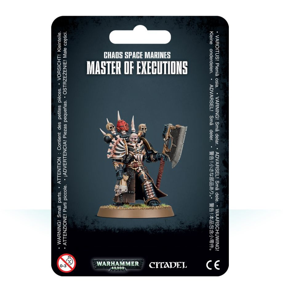 Chaos Space Marines Master of Executions / Мастер казней