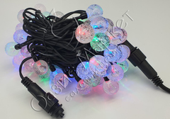 Светодиодная гирлянда уличная шарики 7м 50LED мульти