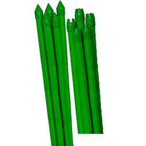 Поддержка металл в пластике стиль бамбук 120cм d11мм 5шт Green Apple