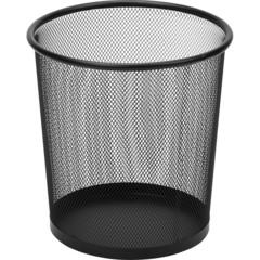 Корзина для мусора Attache 6.7 л металл черная (22.5х23.5 см)