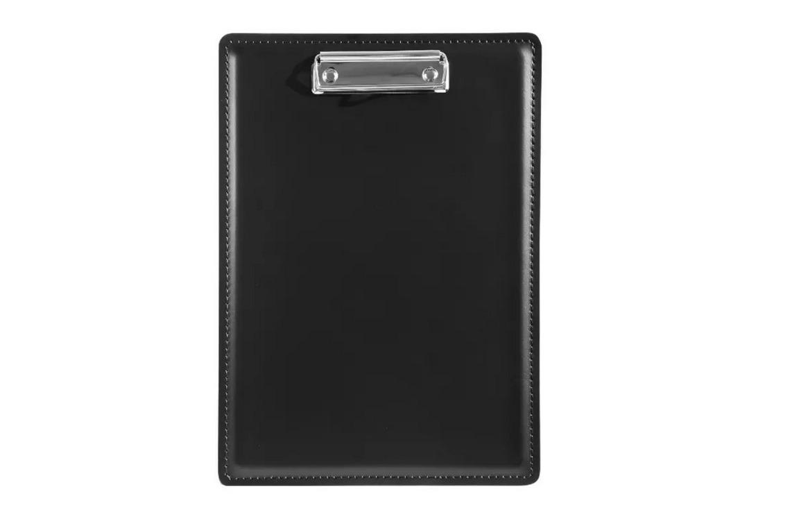 Кожаный планшет с зажимом для А4