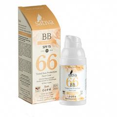 Sativa ВВ-крем ухаживающий №66 Sand Beige SPF 15