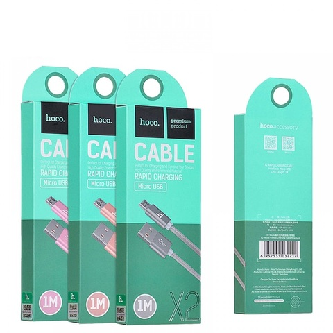 Купить кабель Micro USB Hoco X2 Knitted