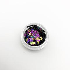 Треугольники 3D Фиолетовые
