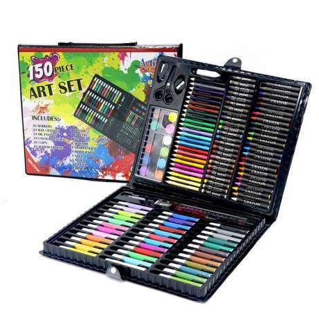 Детское творчество и хобби Набор для рисования в кейсе (150 предметов) 5905ad243e544a71ee235e95f26829fe.jpg