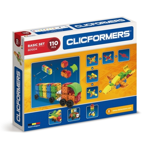 Конструктор CLICFORMERS Basic Set 110 деталей 801004