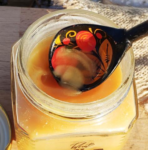 Мёд цветочный конец лета 2020 Казнаковка 330 г