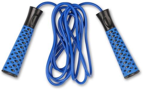 Скакалка INDIGO (синяя), регулируемая длина (2,75 м)