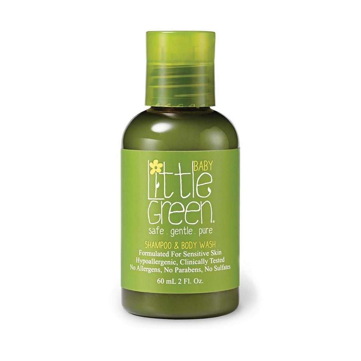 Шампунь и гель для тела Little Green Без Слез Shampoo & Body Wash Baby 60 мл