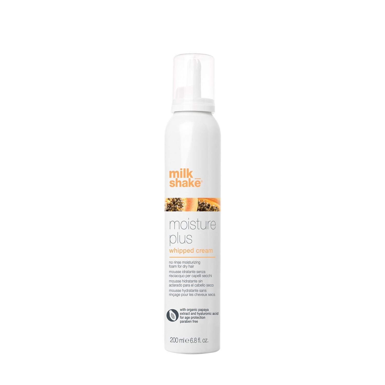 Увлажнящие кондиционирующие крем сливки для ухода за сухими и тонкими волосами / Milk Shake moisture plus whipped cream 200 мл