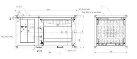 Электрическая лебедка постоянного натяжения IDJ34-30-2000-35 (схема)