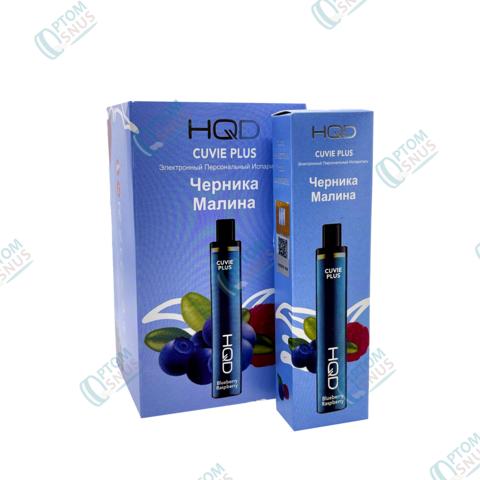 HQD Cuvie Plus Черника-малина 1200тяг (6 штук)