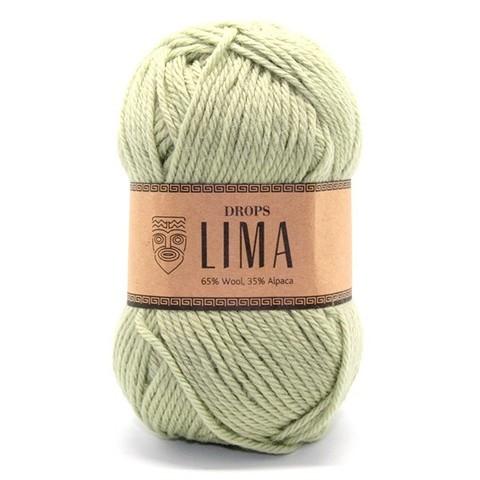 Пряжа Drops Lima 7219 фисташка