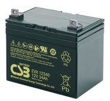 Аккумулятор  CSB EVX12340 ( 12V 34Ah / 12В 34Ач ) - фотография