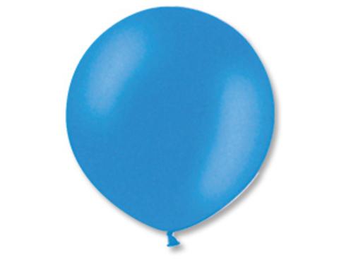 Большой воздушный шар синий