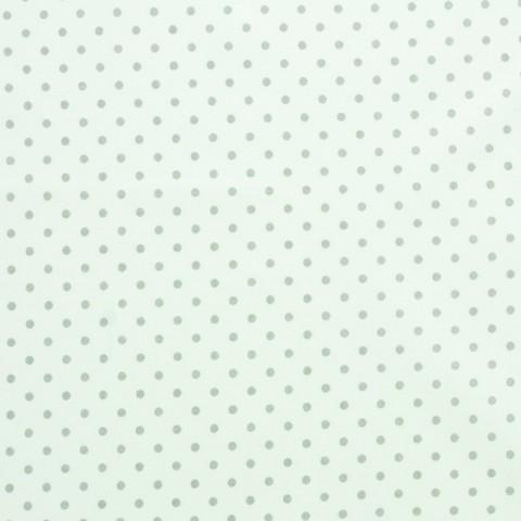 Ткань хлопковая серый горошек, отрез 50*80 см
