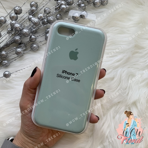 Чехол iPhone 7/8 Silicone Case /mint/ мята 1:1